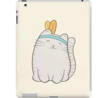 fin, the cat iPad Case/Skin