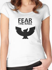 Smash Bros. - Fear The Knee Women's Fitted Scoop T-Shirt