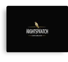 Game of Thrones - Night's Watch - Castle Black Canvas Print