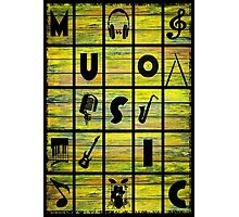 Music Photographic Print