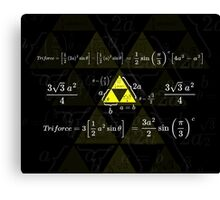 Tri-gonometry Canvas Print