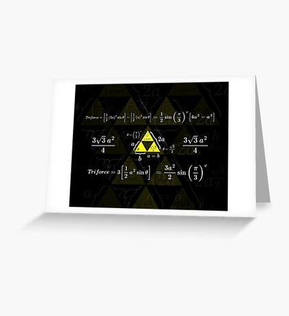 Tri-gonometry Greeting Card