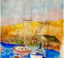 Quiet Bay by Nancy Velasquez