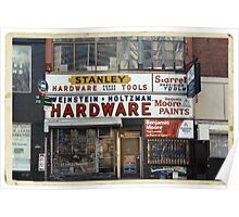 Weinstein & Holtzman Hardware - New York City Store Sign Kodachrome Postcards  Poster