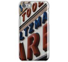 Weinstein & Holtzman Hardware - New York City Store Sign Kodachrome Postcards  iPhone Case/Skin