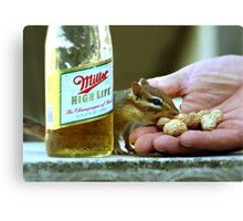 PEANUTS & BEER Canvas Print