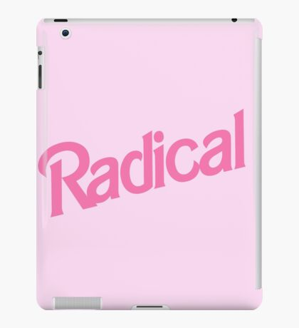 Radical iPad Case/Skin