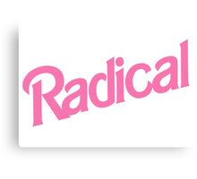 Radical Canvas Print