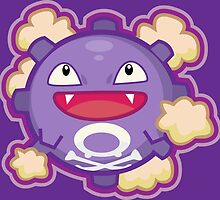 Koffing by Skull And Cubone Society