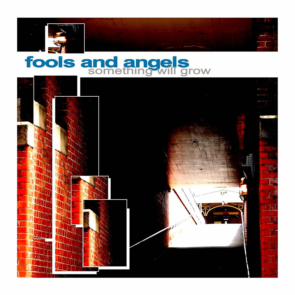 """Fools and Angels """"Something Will Grow"""" EP cover. by byronC"""