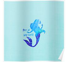Part of your World - Ariel - The Little Mermaid - Disney Inspired Poster