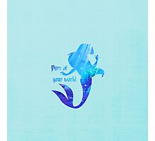 Part of your World - Ariel - The Little Mermaid - Disney Inspired Photographic Print