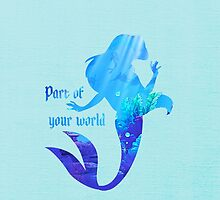 Part of your World - Disney Inspired by still-burning