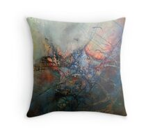 Twilight of the Gods Throw Pillow