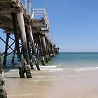Henley Beach Jetty by Robert Jenner