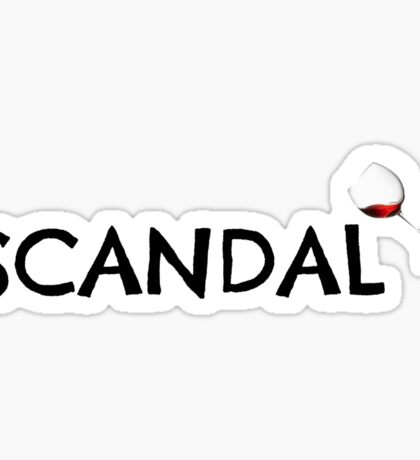 Scandal Sticker