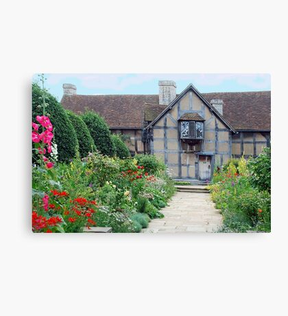 Shakespeare  house Canvas Print
