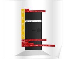 Bauhaus Monolith Poster