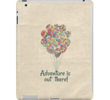 Adventure Is Out There - UP Pixar Disney iPad Case/Skin