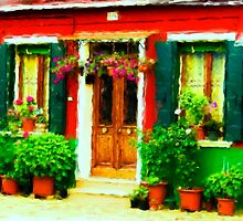 Red House of Italy by Patricia Lintner