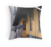 The Commuter Throw Pillow