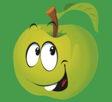 Funny Apple Kids Tee