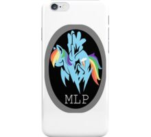 Rainbow Dash/ Shadow Fox: MGS-MLP Crossover iPhone Case/Skin