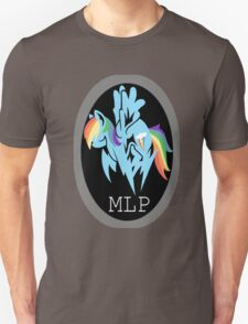 Rainbow Dash/ Shadow Fox: MGS-MLP Crossover T-Shirt