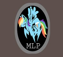 Rainbow Dash/ Shadow Fox: MGS-MLP Crossover Unisex T-Shirt