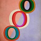 Circles Abstract by Edward Fielding