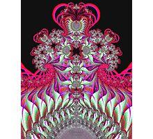 'Neon Fountain' Photographic Print