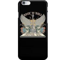 Rock n Roll Will Never Die iPhone Case/Skin