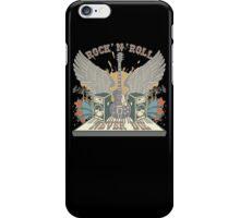 Rock n Roll Will Never Die iPhone Case/Skin
