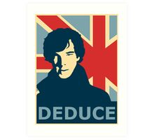 Sherlock Holmes Poster Art Print