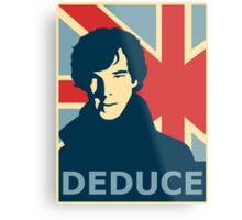 Sherlock Holmes Poster Metal Print