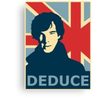 Sherlock Holmes Poster Canvas Print