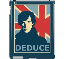 Sherlock Holmes Poster iPad Case/Skin
