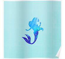 Ariel - The Little Mermaid - Disney Inspired Poster