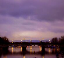 ZURICH - Bridge over Limmat by Charmiene Maxwell-batten