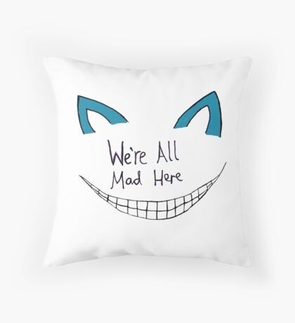 Disappearing Cat - Alice Clarke Throw Pillow
