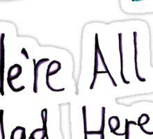 Disappearing Cat - Alice Clarke Sticker