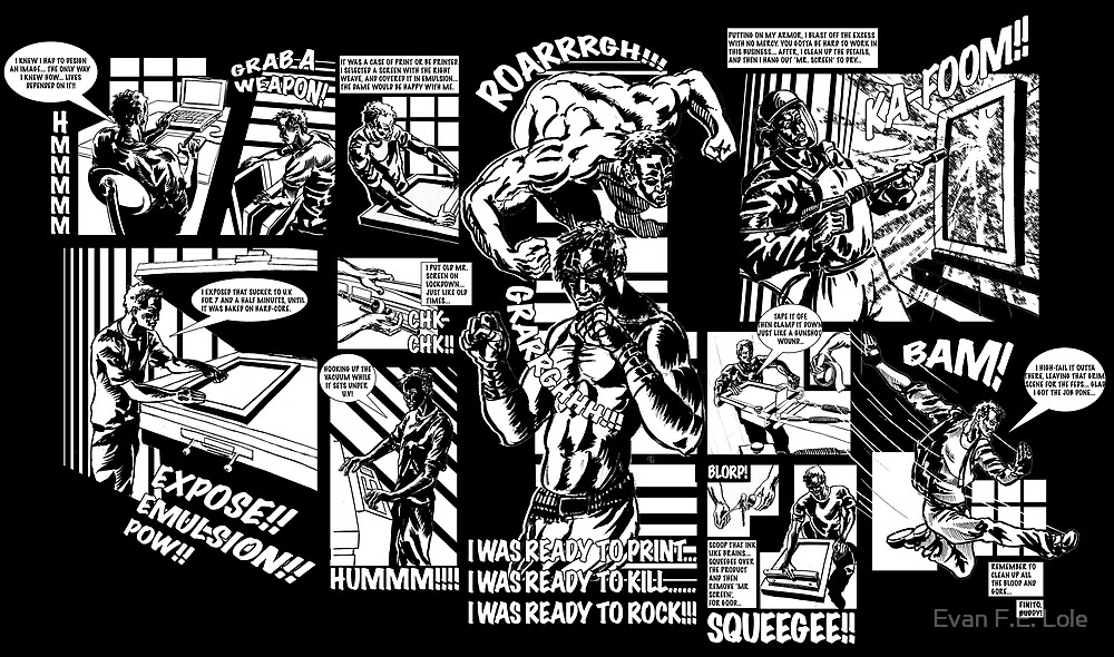 Sin City Screens by Evan F.E. Lole