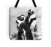 A Pair of Penguins - African Penguins Tote Bag