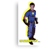 Captain Hammer  Canvas Print