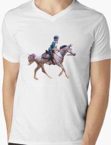 Endurance Riders Ready Mens V-Neck T-Shirt