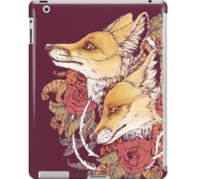 Red Fox Bloom iPad Case/Skin