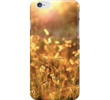 Autumn Grass Seed iPhone Case/Skin