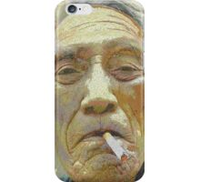 Smoking cures salmon... iPhone Case/Skin