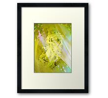 An Angel's Song by Marie Sharp and Sally Omar Framed Print