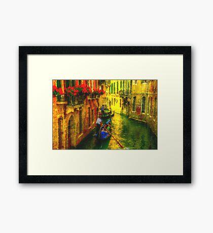 Italian Red Framed Print